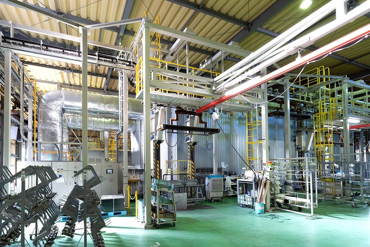 生産工程の自動化