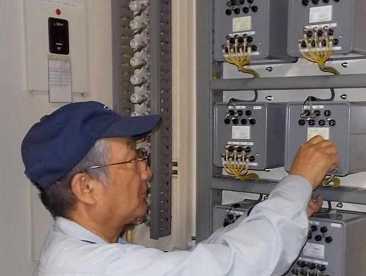 電気施設の保守・改修の画像