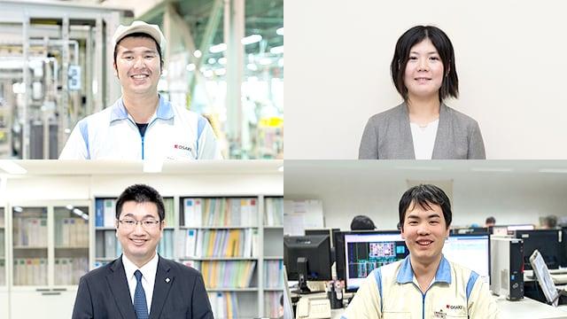 採用情報の社員の写真